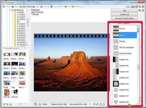 Skjermbilde PhotoScape Windows XP