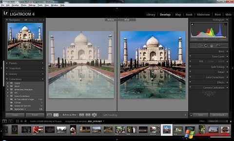 Skjermbilde Adobe Photoshop Lightroom Windows XP