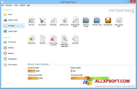 Skjermbilde jv16 PowerTools Windows XP