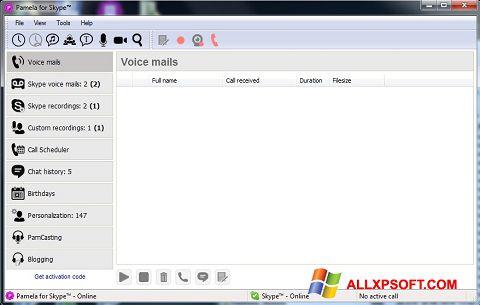 Skjermbilde Pamela for Skype Windows XP