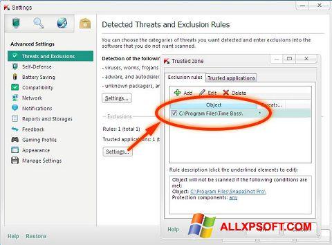 Skjermbilde Time Boss Windows XP