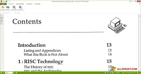 Skjermbilde Hamster PDF Reader Windows XP