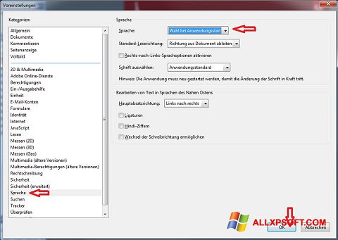 Skjermbilde Adobe Reader Windows XP