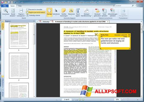 Skjermbilde Nitro PDF Reader Windows XP