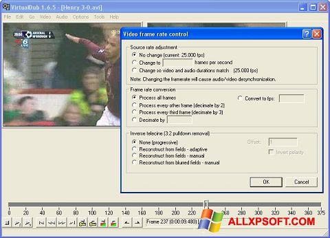 Skjermbilde VirtualDubMod Windows XP