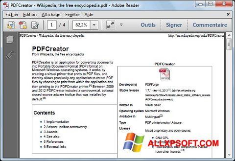 Skjermbilde PDFCreator Windows XP