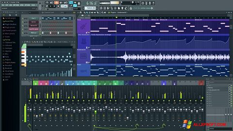 Skjermbilde FL Studio Windows XP