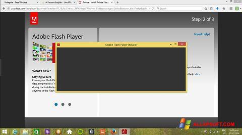 Skjermbilde Adobe Flash Player Windows XP