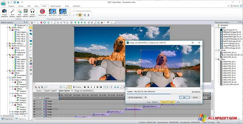 Skjermbilde VSDC Free Video Editor Windows XP