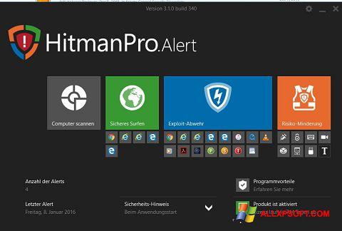 Skjermbilde HitmanPro Windows XP