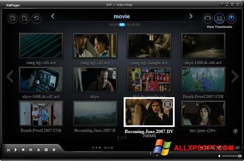 Skjermbilde KMPlayer Windows XP