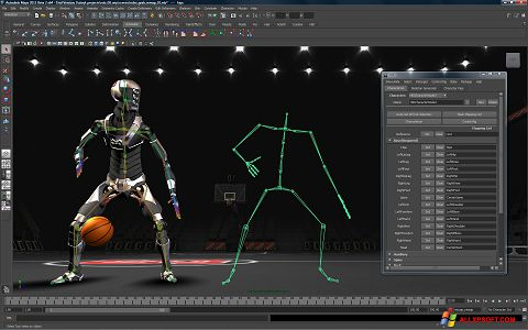 Skjermbilde Autodesk Maya Windows XP