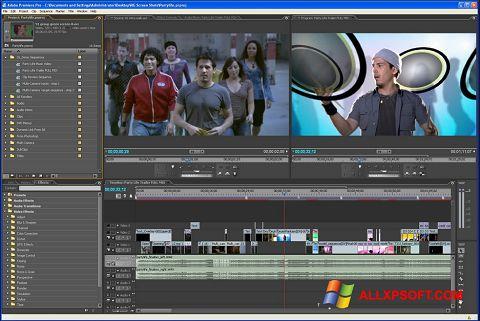 Skjermbilde Adobe Premiere Pro Windows XP