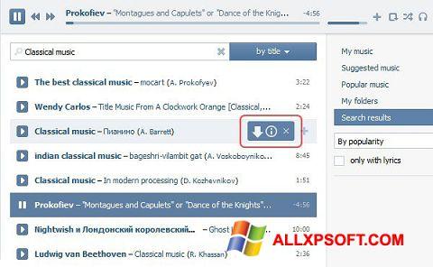 Skjermbilde SaveFrom.net Windows XP