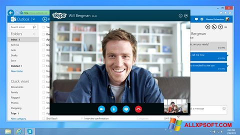 Skjermbilde Skype Windows XP