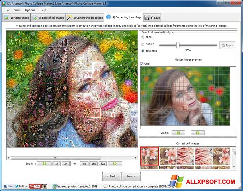 Skjermbilde Photo Collage Windows XP