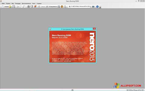Skjermbilde Nero Windows XP