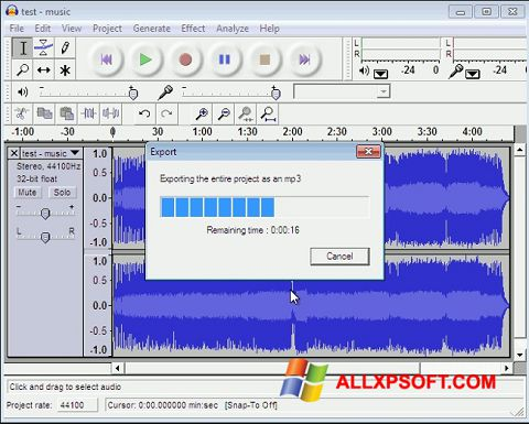 Skjermbilde Lame MP3 Encoder Windows XP